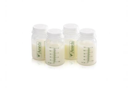 Set 4 recipiente de stocare lapte matern Ameda (17244I)