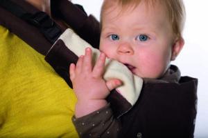 Manduca Fumbee – protectie pentru bretele din bumbac organic