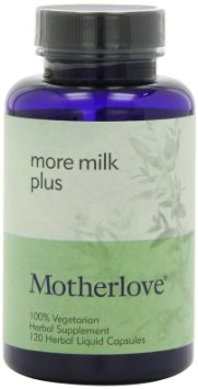 More Milk Plus de la Mother love - 120 de capsule