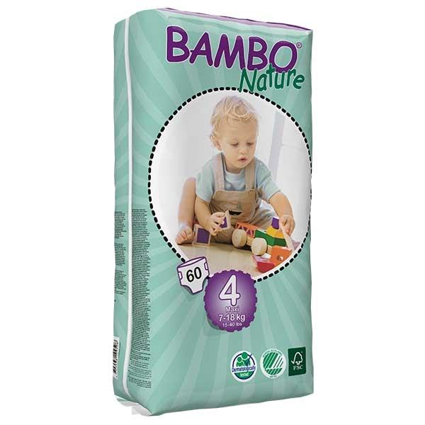 Bambo Nature Maxi (Nr.4) - Pachet mare
