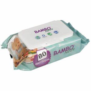 Bambo Nature - Servețele umede, 80 buc