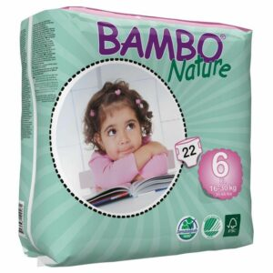Scutece ecologice Bambo Nature XL (Nr.6) - Pachet mic
