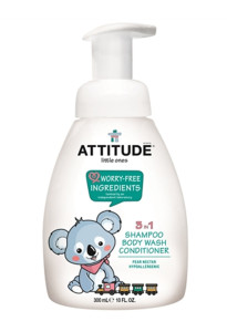 3 în 1 gel de duș, șampon și balsam - nectar de pere