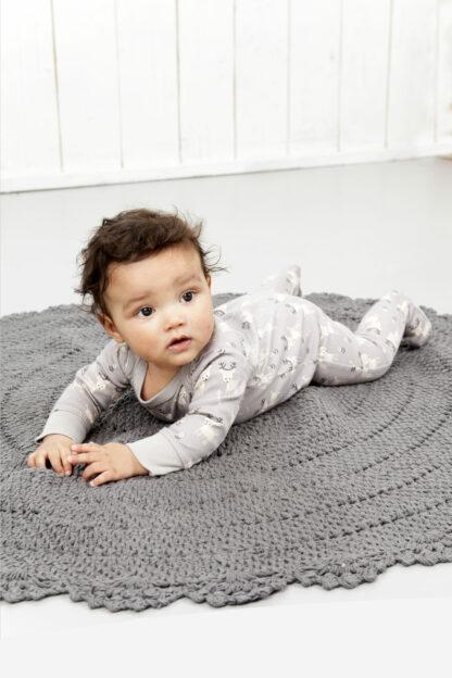 Pijamale cu talpă, din bumbac organic Fresk
