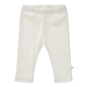 Pantaloni uni din bumbac organic Fresk - Offwhite