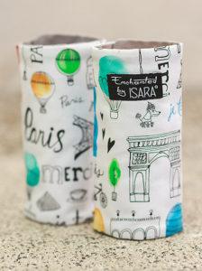Protecții bretele - ISARA Chic in Paris