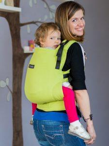 Conversie wrap țesut - ISARA Lime toddler