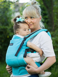 Conversie wrap țesut - ISARA Turquoise standard
