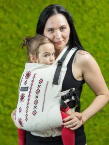 Wrap țesut brodat manual - Isara Transylvanian Mountains (toddler)