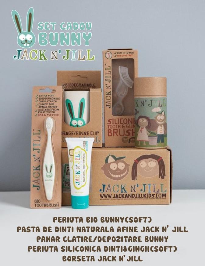 Set cadou de igienă orală - Bunny - Jack N'Jill