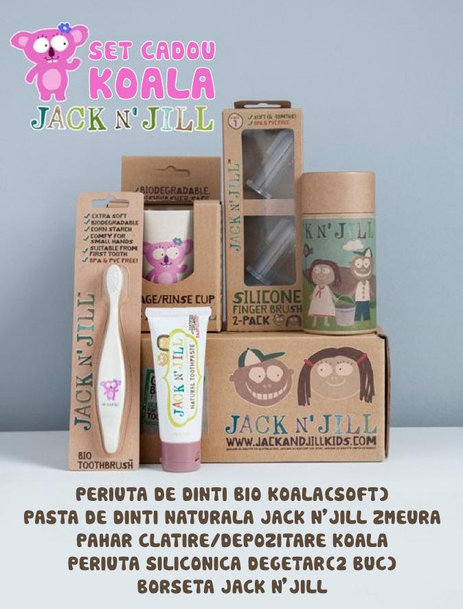 Set cadou de igienă orală - Koala - Jack N'Jill