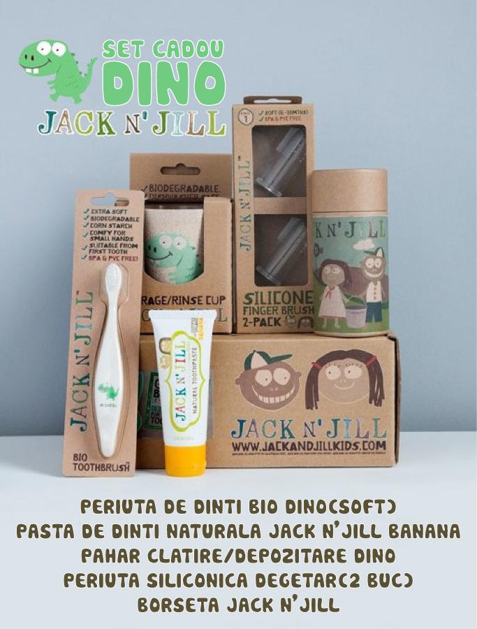 Set cadou de igienă orală - Dino - Jack N'Jill