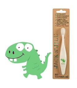Periuță de dinți bio - Dino - Jack N'Jill
