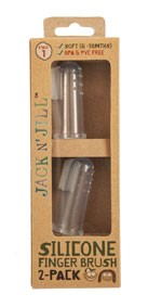 Periuță siliconică de deget - Jack N'Jill