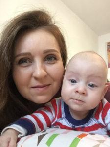 Alăptarea și abcesul - povestea Alinei si a lui bebe Iulian Duta