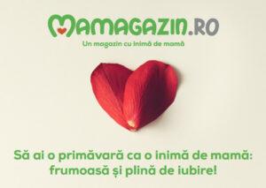 Un mărșisor din inimă de la Mamagazin.ro