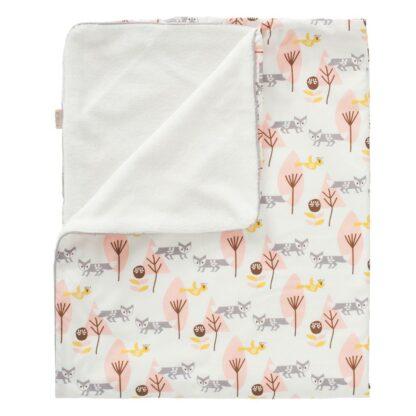 Păturică căptușită Fresk - Fox pink