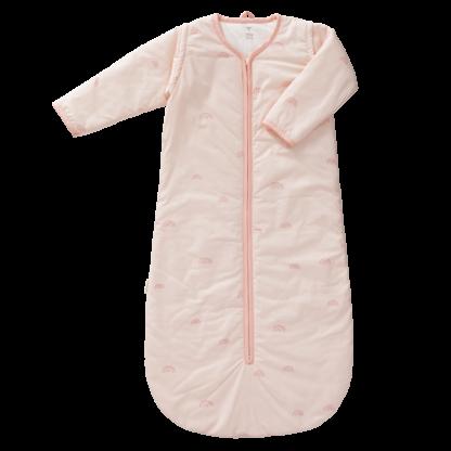 Sac de dormit căptușit cu mâneci detașabile - Fresk - Rainbow rose