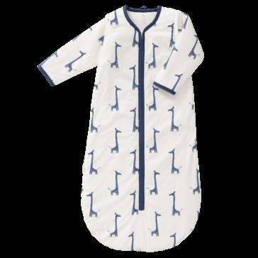 Sac de dormit căptușit cu mâneci detașabile - Fresk - Giraf indigo blue