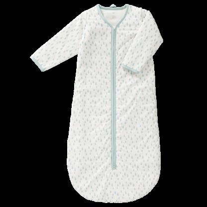 Sac de dormit căptușit cu mâneci detașabile - Fresk - Raindrops blue